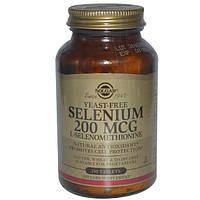 Solgar, Селен, 200 мкг, 250 таблеток, SOL-02558