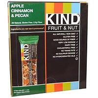 KIND Bars, Fruit & Nut, Apple Cinnamon & Pecan, 12 Bars, 1.4 oz (40g) Each, KIN-17117