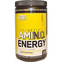 Optimum Nutrition, Essential Amino Energy, со вкусом ананаса, 9,5 унций (270 г), OPN-05386