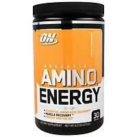 Optimum Nutrition, Энергия основных аминокислот, со вкусом персика и лимонада,  9.5 унции(270 г), OPN-05431