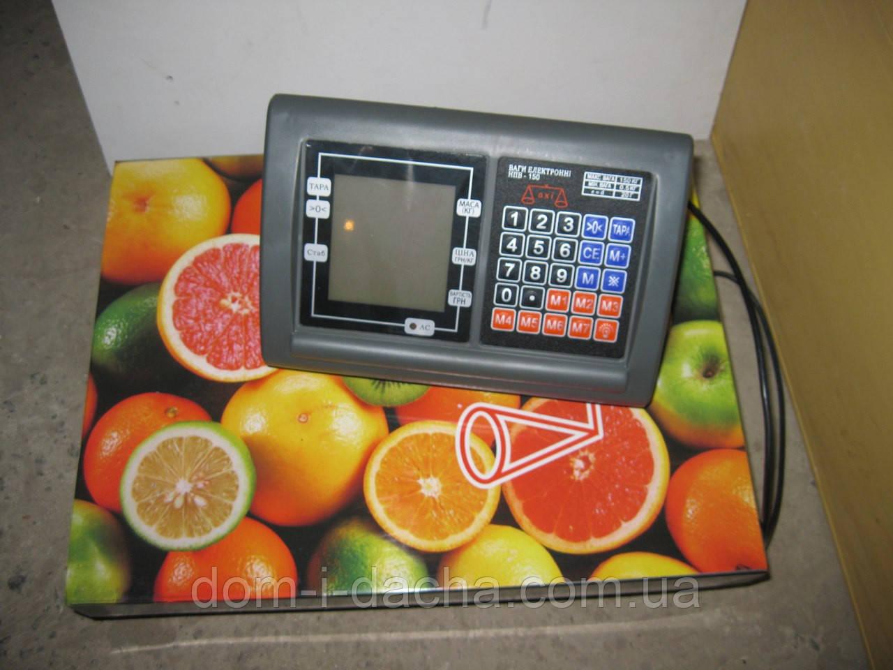 Весы платформенные OXI -300 кг