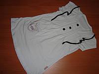 Блуза туника короткий рукав размер 110 116см