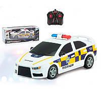 Машина на радиоуправлении полиция Police 1037: длина 23см, резиновые колеса