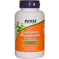 Now Foods, Фитосома куркумина, 60 растительных капсул, NOW-04642