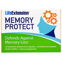 Life Extension, Защита памяти, 36 капсул, LEX-21013