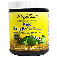 MegaFood, Добавка «Ежедневная для детей с упором на витамин B», 1,1 унции (32,1 г), MGF-60146