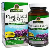 Nature's Answer, Калий и магний растительного происхождения, 500/250 мг, 120 вегетарианских капсул, NTA-16461
