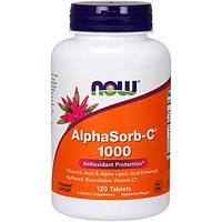 Now Foods, AlphaSorb-C 1000, 120 таблеток, NOW-00726