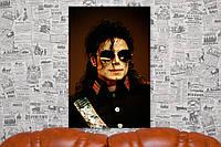 Майкл Джексон. Michael Jackson. 60х40 см. Картина на холсте.