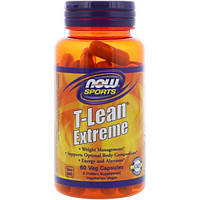 Now Foods, Sports, T-Lean Extreme, 60 Veg Capsules, NOW-01923