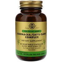 Solgar, Echinacea/Cat's Claw Complex, 60 Vegetable Capsules, SOL-03869