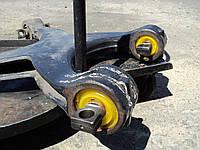 Сайлентблок полиуретановый рычага подвески реактивной тяги MAN TGA X-образный реставрация