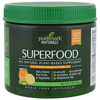 PureMark Naturals, Суперпродукт, со вкусом меда и лимона, 7 унций (198 г), PMN-25352