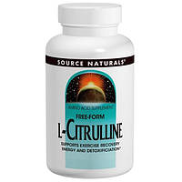 Source Naturals, L-цитруллин, 1000 мг, 60 таблеток, SNS-02003