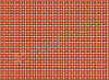 Фетр с принтом КЛЕТОЧКА КРАСНАЯ, 22x30 см, корейский мягкий 1.2 мм
