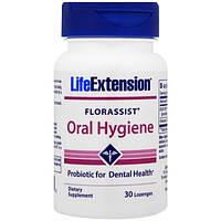 Life Extension, Florassist, средство гигиены полости рта, 30 пастилок, LEX-21203