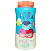 Solgar, U-Cubes, детские жевательный мармелад D3 с кальцием, 120 жевательных мармеладных конфет, SOL-57600