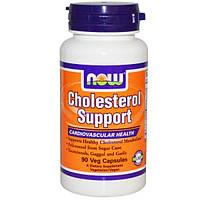 Now Foods, Улучшение холестеринового баланса, 90 растительных капсул, NOW-03313