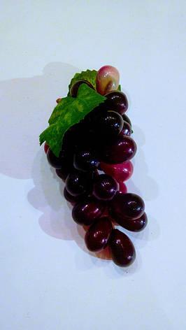 Гроздь искусственного винограда ( фиолетовая), фото 2