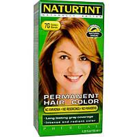 Naturtint, Стойкая краска для волос, 7G, золотой блонд, 5,28 жидких унций (150 мл), NTT-01011