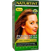 Naturtint, Стойкая краска для волос, 7N, белокурый-фундук, 5,28 жидких унций (150 мл), NTT-01005