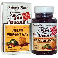 """Nature's Plus, """"Скажите бобовым «да»"""", 60 капсул на растительной основе, NAP-04431"""