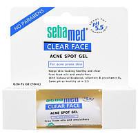 Sebamed USA, Чистое лицо, гель против угревой сыпи, 0.34 жид.унции(10 мл), SMU-00159