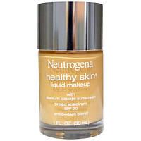 Neutrogena, Здоровая кожа, жидкий макияж, натуральный бежевый 60, 1 жидкая унция (30 мл), NGN-67006