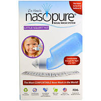 Nasopure, Носовые Wash System, Little Squirt Kit, 1 комплект, NSP-00004