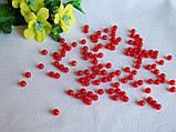Жемчуг красный 0.6 см. Вес упаковки 10 гр - 92 шт, фото 3