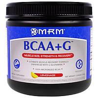 MRM, BCAA+G , со вкусом лимонада, 0,396 фунта (180 г), MRM-71026