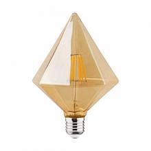 Светодиодная лампа RUSTIC PYRAMID  6W FILAMENT LED E27 2200К