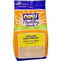 Now Foods, Healthy Foods, порошок подорожника, 24 унции (680 г), NOW-05978