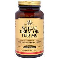 Solgar, Масло зародышей пшеницы, 1130 мг, 100 капсул, SOL-03660