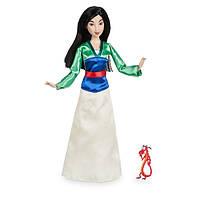 Disney Принцессы Диснея Мулан с драконом Мушу Mulan Classic Doll with Mushu Figure