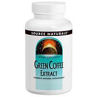 Source Naturals, Экстракт зеленого кофе, 500 мг, 60 таблеток, SNS-02479