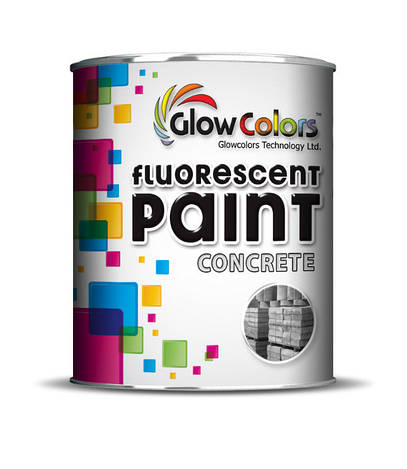 Флуоресцентная краска GlowColors для металла 1л красный