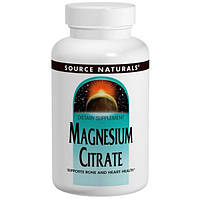 Source Naturals, Магния цитрат, 133 мг, 180 капсул, SNS-02100