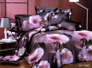 Красивое постельное бельё (двушка)