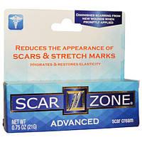 Scar Zone, Усовершенствованный крем от шрамов, 0,75 унции (21 г), SCZ-60960