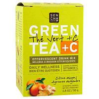 Sencha Naturals, Citrus Ginger Green Tea +C Packets, 10 ct, SCN-02120