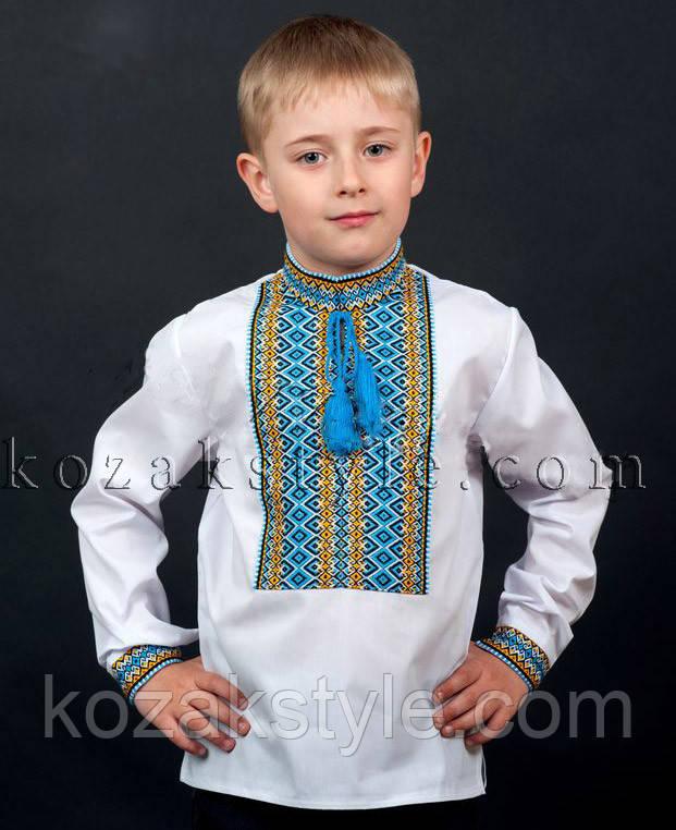 Сорочка з українським орнаментом для хлопчика