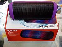 Портативная беспроводная колонка динамик для телефона и компьютера. Bluetooth X2U Pulse 2 Супер звук.