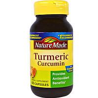 Nature Made, Куркумин, 60 капсул, NDM-02754
