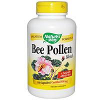 Nature's Way, Пчелиная пыльца, смесь, 180 капсул, NWY-02025