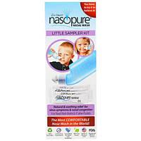Nasopure, Nasopure Little Sampler Kit, 4 oz bottle, 4 buffered salt packets, instructions, NSP-00010