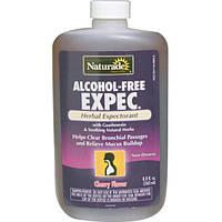 Naturade, Отхаркивающее средство без спирта с вишневым вкусом, 260 мл, NAD-03492