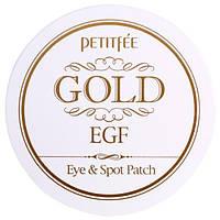 Petitfee, Gold EGF, Hydro Gel Eye & Spot Patch, 60/30 ct, PTT-80061