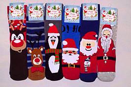 Носки махровые  новый год