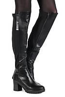 Стильные и очень модные комбинированные сапоги Christie размер 36,37,40
